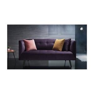 Canapea pentru 3 locuri Bobochic Paris, mov