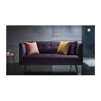 Canapea pentru 3 locuri Bobochic Paris mov