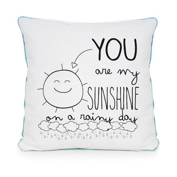 Polštář Sunshine Rainy, 45x45 cm