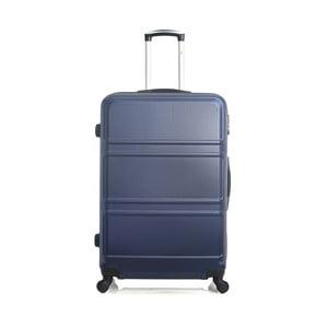 Modrý cestovní kufr na kolečkách Hero Utah, 60 l