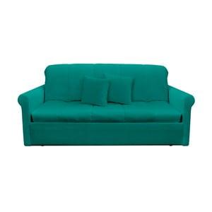 Canapea extensibilă cu 3 locuri 13Casa Greg, turcoaz