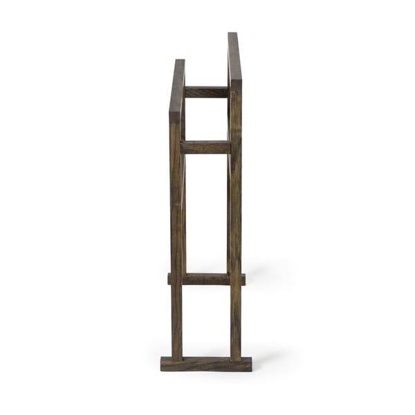 Dřevěný stojan na osušky Wireworks Mezza Dark