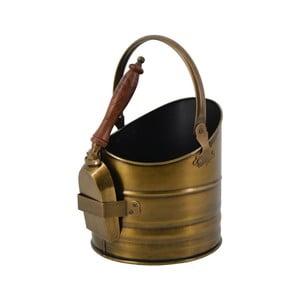 Kovový kbelík s lopatkou Moycor Coal