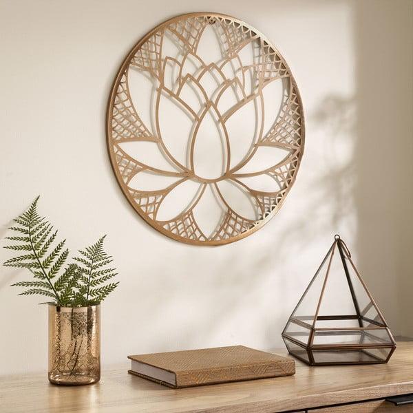 Kovová nástěnná dekorace Graham & Brown Lotus Blossom