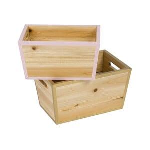 Set 2 organizatoare de lemn Tri-Coastal Design Stockholm