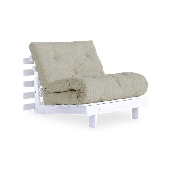 Variabilní křeslo Karup Design Roots White/Linen Beige