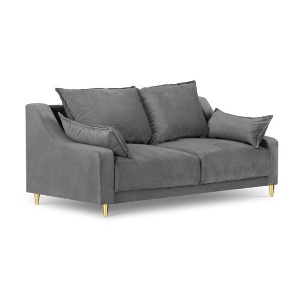 Canapea cu 2 locuri Mazzini Sofas Pansy, gri deschis