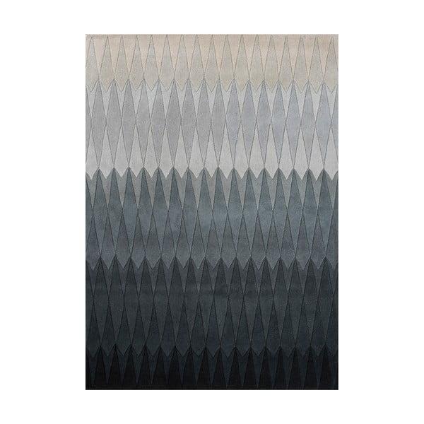Vlněný koberec Acacia Grey, 200x300 cm
