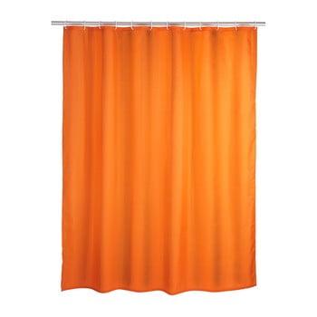 Perdea duș Wenko Puro, 180 x 200 cm, portocaliu imagine