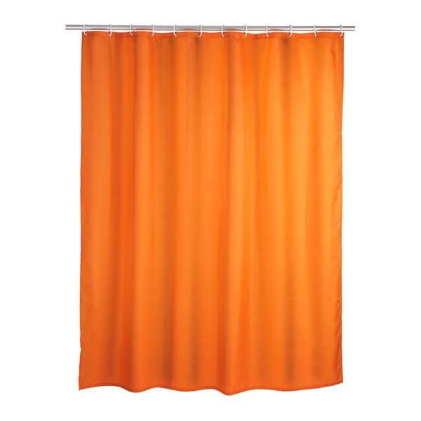 Perdea duș Wenko Puro, 180 x 200 cm, portocaliu