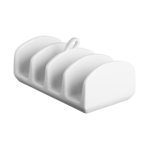 Suport servire toast Price & Kensington Simplicity, alb