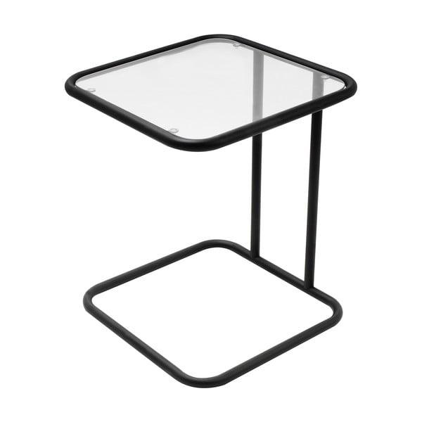 Hranatý stolek, černý