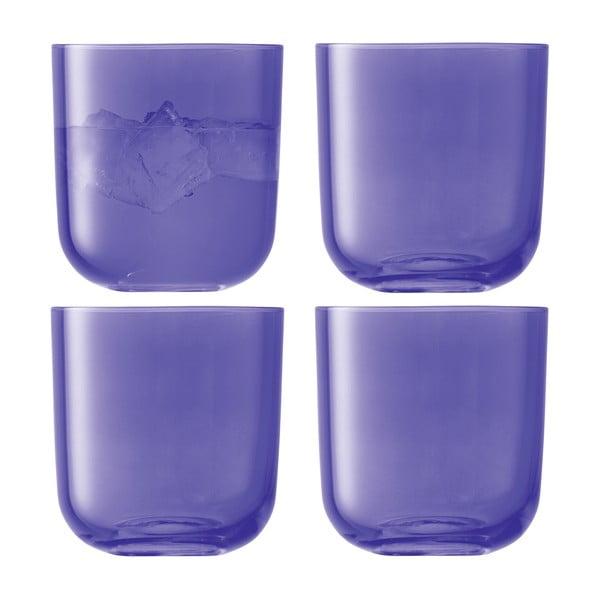 Centro Purple, nízká sklenice, sada 4 ks