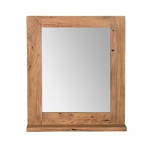 Nástěnné zrcadlo  z akáciového dřeva Woodking Wellington