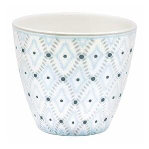 Cană din ceramică Green Gate Elsa Latté, alb