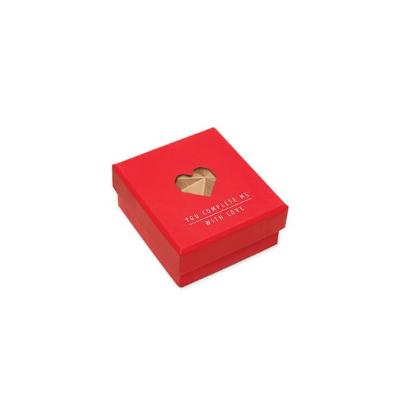 Puzzle se vzkazem Luckies of London Romantic Red