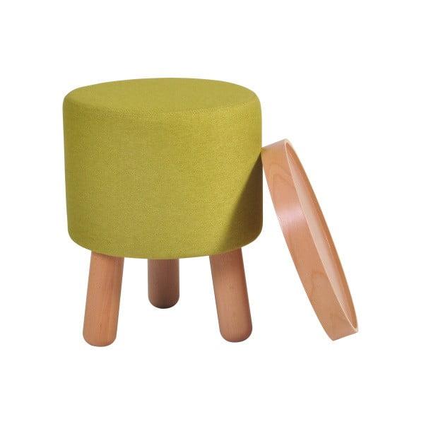 Zelená stolička Garageeight Molde s odnímatelným vrškem, velikost S