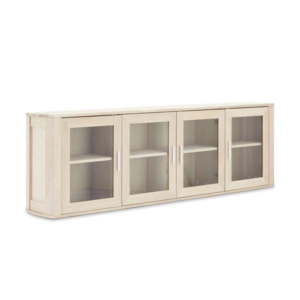 Dubová nástěnná skříňka se 4 dvířky Furnhouse Paris