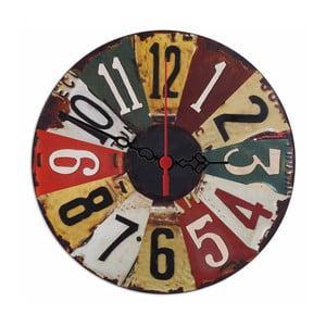 Nástěnné hodiny SPZ, 30 cm