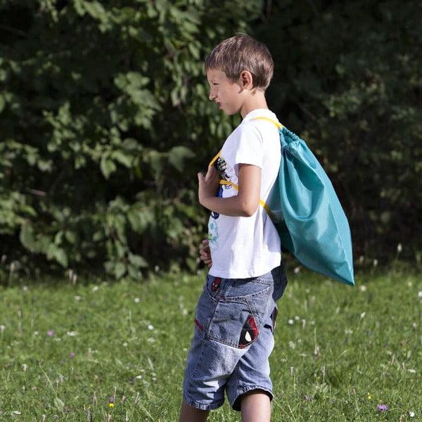 Sáček pro děti do školy, zelený