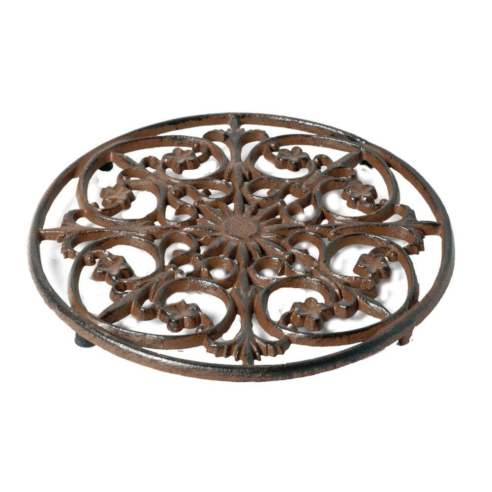 Kovová podložka pod hrnec Antic Line Round, ⌀ 24 cm