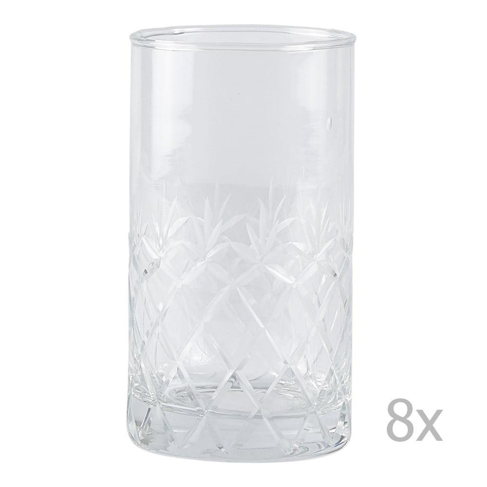 Sada 8 sklenic Villa Collection Glass, 250 ml
