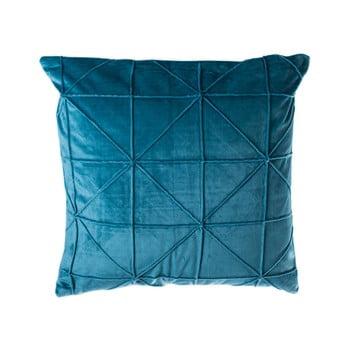 Pernă JAHU Amy, 45 x 45 cm, albastru petrol imagine
