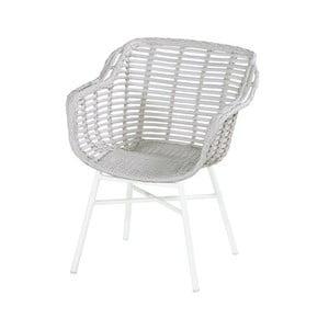 Proutěná zahradní židle s polštářkem Hartman Cecilia