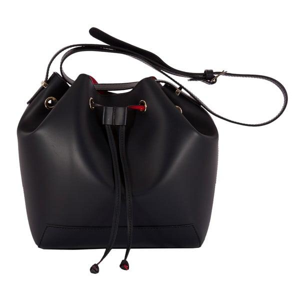 Černá kabelka z pravé kůže Andrea Cardone Jemma