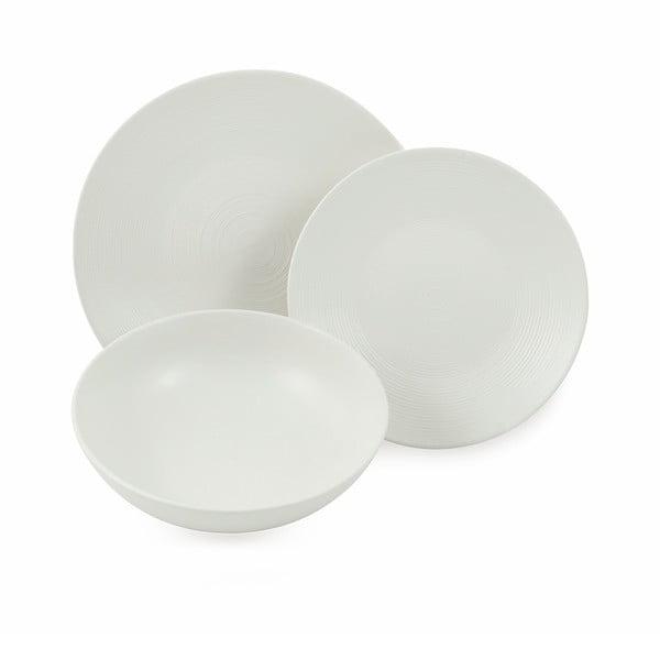 18dílná sada bílého nádobí z kameniny Villad'Este Baku