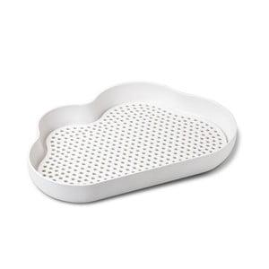 Bílý odkapávač na nádobí Qualy&CO Cloud