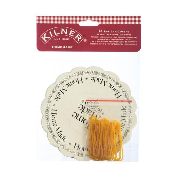 Sada 24 štítků na sklenice Kilner I