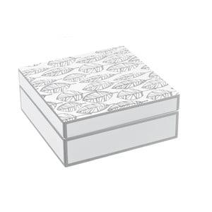 Úložný box Unimasa Feather,20x20cm