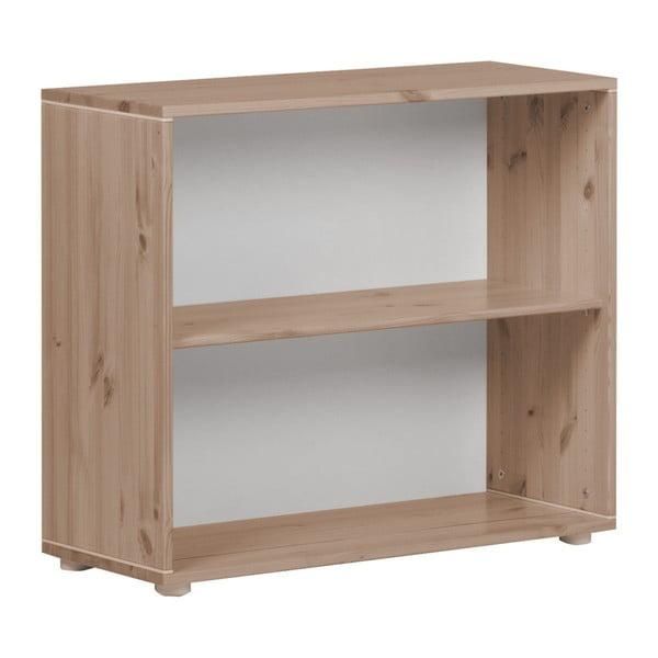 Brązowa szafka dziecięca z drewna sosnowego Flexa Classic, szer. 86 cm