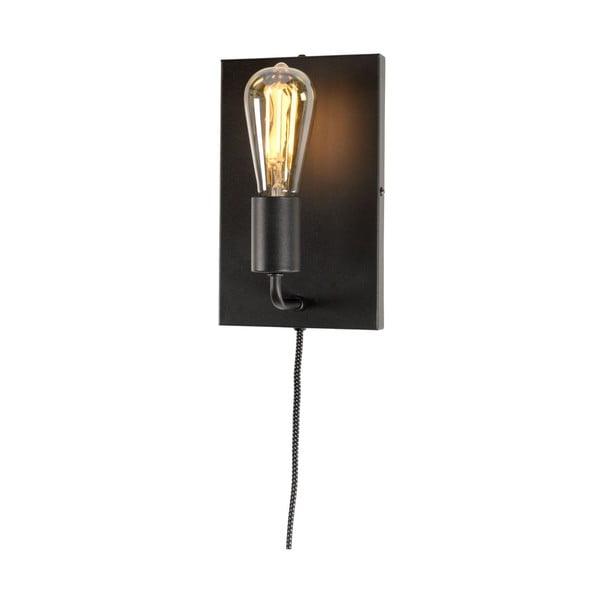 Černé nástěnné svítidlo Citylights Madrid