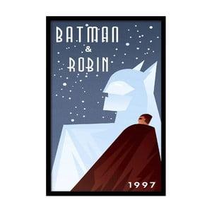Plakát Batman & Robin, 35x30 cm