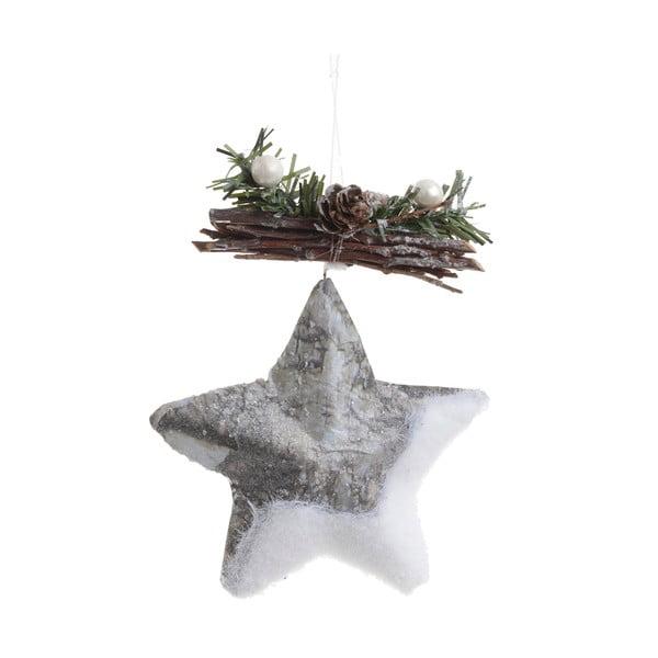 Vánoční ozdoba ve tvaru hvězdičky InArt Star