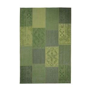 Zelený ručně tkaný koberec Kayoom Emotion, 160 x 230 cm