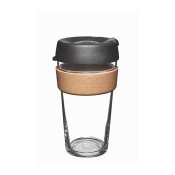 Cană de voiaj cu capac KeepCup Brew Cork Edition Espresso, 454 ml