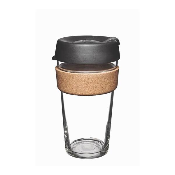 Kubek podróżny z wieczkiem KeepCup Brew Cork Edition Espresso, 454 ml