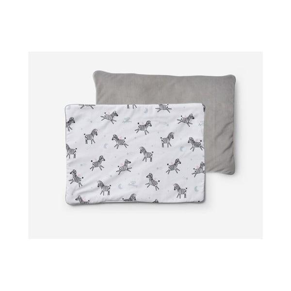 Zebras gyerekpárna nyomattal, 40 x 55 cm - Pinio