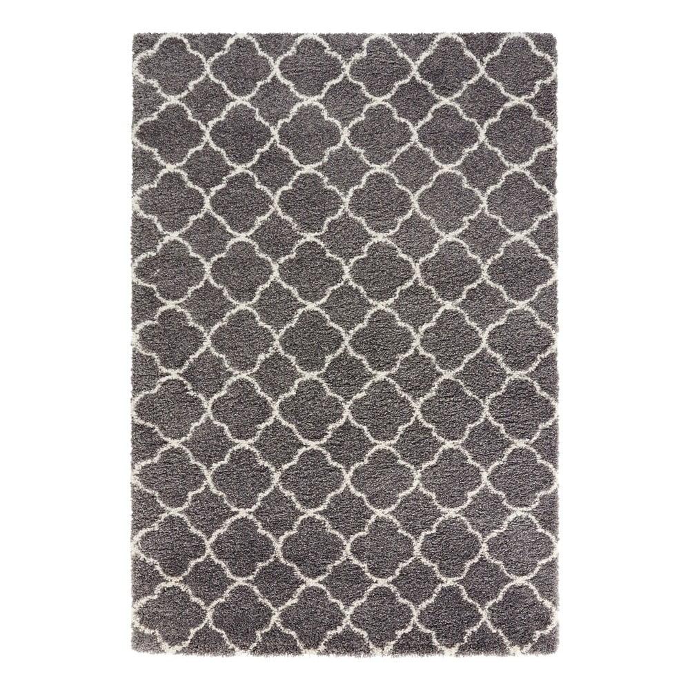 Šedo-bílý koberec Mint Rugs Grace Grey Creme, 160 x 230 cm