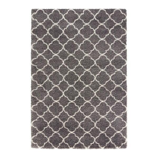 Šedo-bílý koberec Mint Rugs Grace, 80x150cm