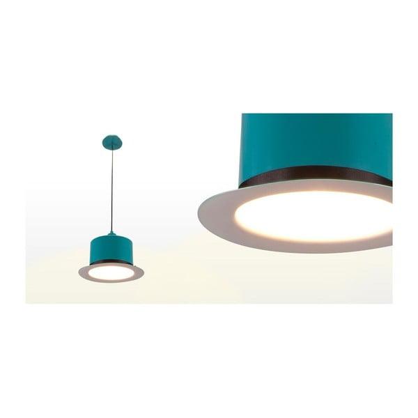 Stropní světlo Hat Turquoise/White