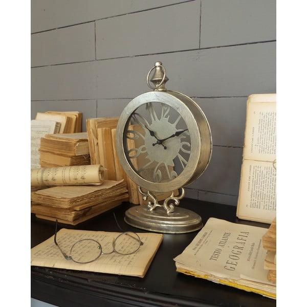 Stolní hodiny Antique Silver