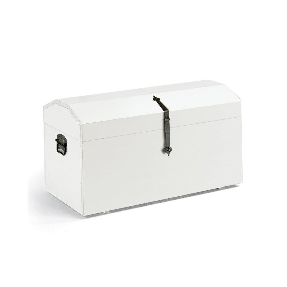 Bílá dřevěná truhla Castagnetti Cassettobe