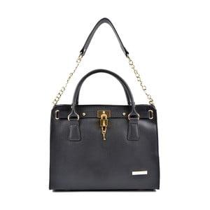 Černá kožená kabelka Roberta M Bea