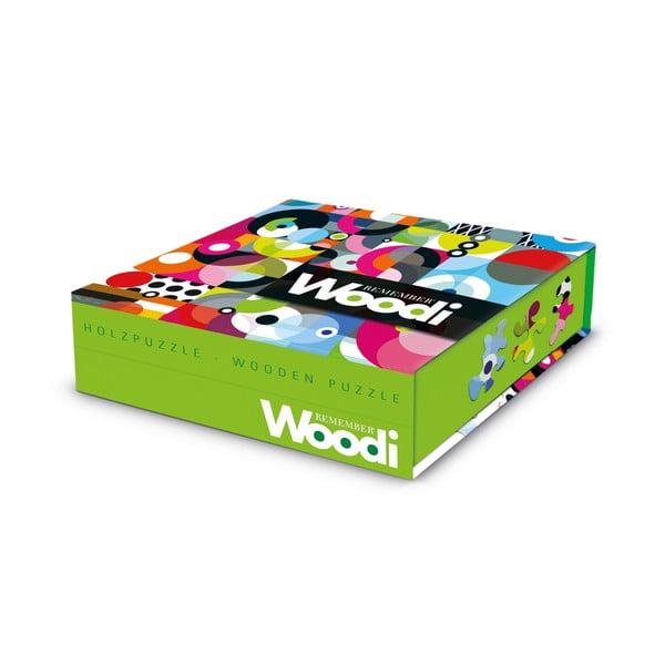 Dřevěné puzzle Woodi
