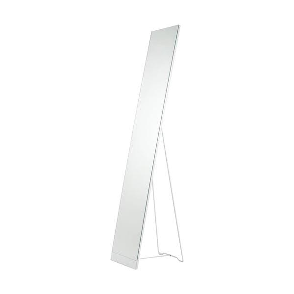 Biele stojacie zrkadlo Stand