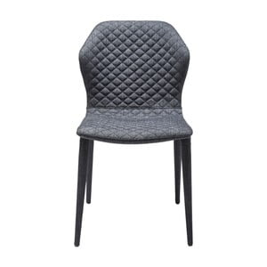 Tmavě šedá židle Kare Design Atlantis